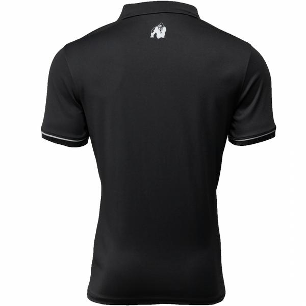 Forbes Polo T-skjorte Herre Svart Gorila Wear bak
