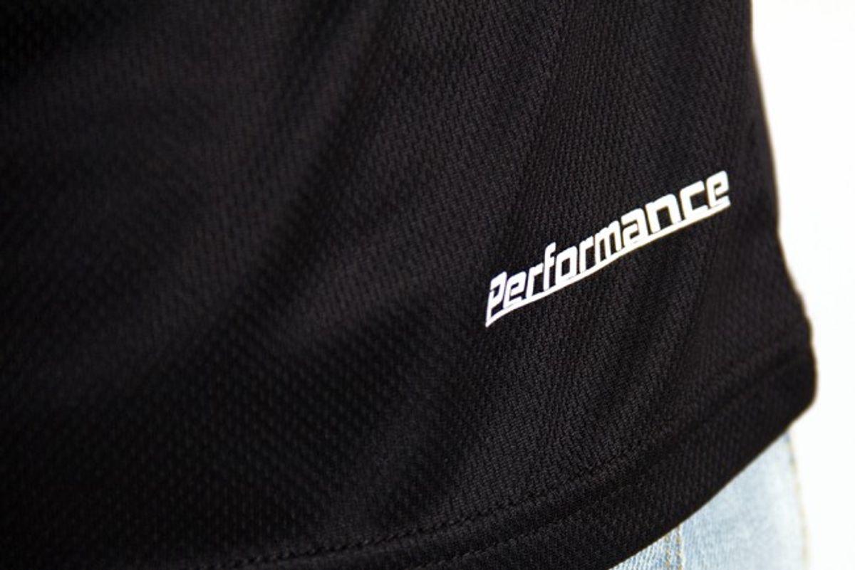Sport T-skjorte Performance -Svart