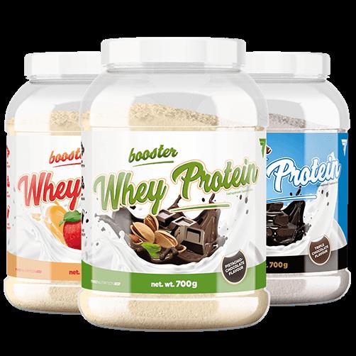 Whey Protein pulver - Booster - 700g