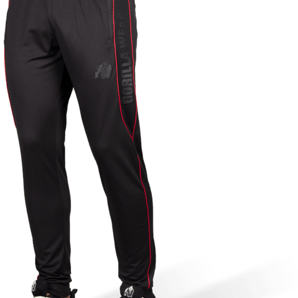 Gorilla_Wear_Branson_Pants_-_Black_Red_3