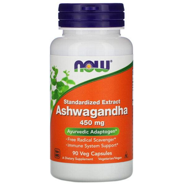 Ashwagandha ekstrakt 450mg, 90vegans kapsler