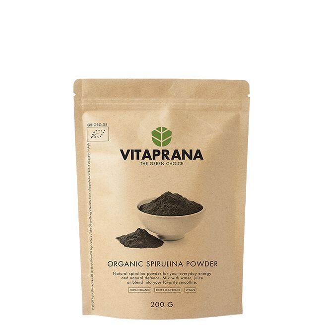 Vitaprana Organisk Spirulina pulver 200g